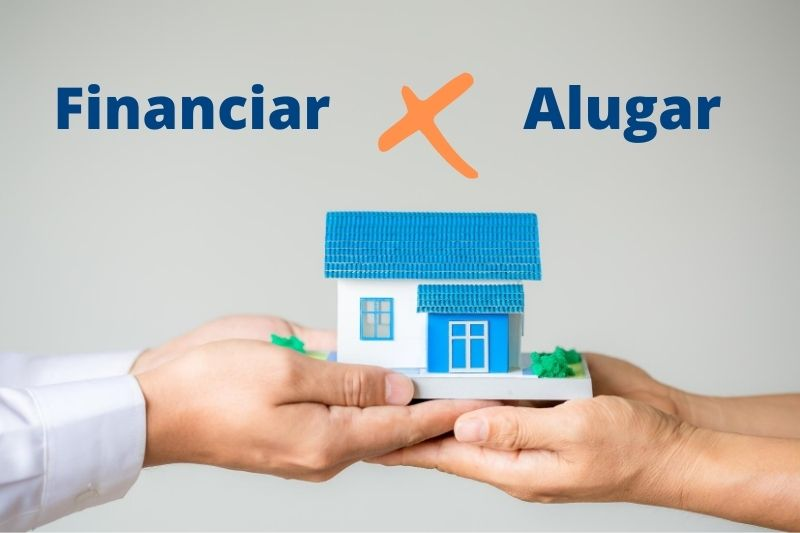 financiar ou alugar