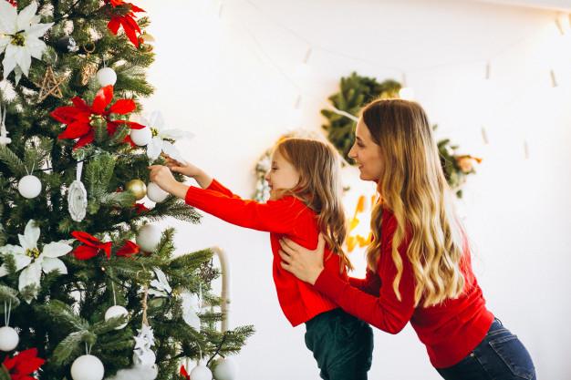 decoração de natal gastando pouco